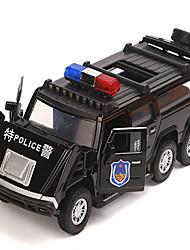 Недорогие -Игрушечные машинки Полицейская машинка Музыка и свет Универсальные Игрушки Подарок / Металл