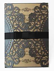 Piegato a cancello Inviti di nozze 50-Invito Cards Invito campione Biglietti di compleanno Biglietti per la Festa della mamma Cartoline