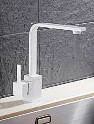 High Quality Brass Quartz Stone Single Handle One Hole Rotatable Kitchen Sink Faucet