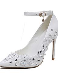 economico -Da donna-Tacchi-Matrimonio Formale-Club Shoes-A stiletto-Finta pelle-