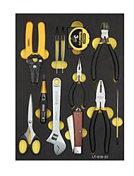 Stanley edennyt tietoliikenne työkalupakki asettaa 12 kpl LT-018-23 kodin sähköiset välineet