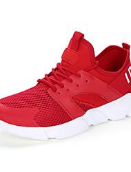 Недорогие --Для женщин-Для прогулок Повседневный Для занятий спортом-Тюль-На плоской подошве-Удобная обувь-Кеды