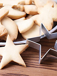 cheap -1Pcs  Baby Kid Kitchen DIY Star Shaped Cookies Cake Mould Cartoon Mousse Ring Baking Mold