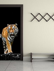 Animals Wall Stickers 3D Wall Stickers Decorative Wall Stickers,Vinyl Material Home Decoration Wall Decal