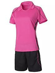 Women's Soccer Jersey + Shorts Breathable Summer Classic Polyester Football/Soccer