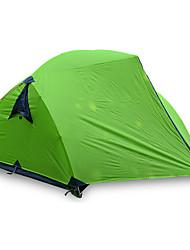 economico -JUNGLEBOA® 3-4 persone Tenda Doppio Tenda da campeggio Una camera Tenda ripiegabile Ompermeabile Portatile Anti-pioggia per Escursionismo