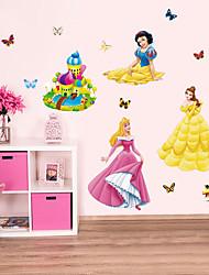 Animaux Architecture Bande dessinée Stickers muraux Autocollants avion Autocollants muraux décoratifs,Papier MatérielDécoration