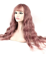cheap -Hot Selling Light Purple Color Synthetic Cosplay Wigs For Women Party Wig