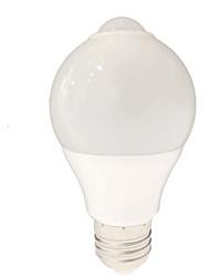 5W E26/E27 LED Globe Bulbs SMD 2835 650 lm White K Sensor AC220 V