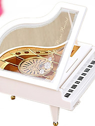 cheap -Music Box Square Gift Kid's Adults Kids Adults' Gift Metal Girls'
