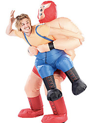 cheap -Inflatable Wrestler Costume Halloween Costumes For Adult Party Costume For Men And Women Wrestling Inflatable Costume Kits