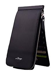 cheap -Unisex Bags PU Bi-fold Checkbook Wallet for Shopping Casual Professioanl Use All Seasons Gray Purple Fuchsia Coffee Light Purple