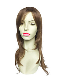 Capless Long Wavy Synthetic Fiber Kanekalon With Side Part Costume Cosplay Wigs