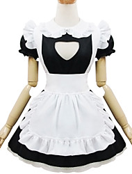 Outfits Sweet Lolita Lolita Cosplay Lolita Dress Solid Short Sleeves Short / Mini For