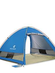 economico -KEUMER 3-4 persone Tenda Igloo da spiaggia Singolo Tenda da campeggio Una camera Pop up tenda Resistente ai raggi UV per Campeggio Viaggi