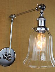 baratos -Regional / Retro Swing Arm Lights Metal Luz de parede 110-120V / 220-240V 40W