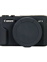 cheap -Dengpin Soft Silicone Armor Skin Rubber Camera Cover Case Bag for Canon PowerShot G7 X Mark II g7x2 (Assorted Colors)