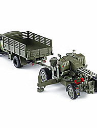 cheap -Toy Car / Model Car Truck / Military Vehicle Car / Truck Simulation / Music & Light Unisex