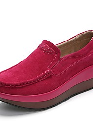 Women's Loafers & Slip-Ons Spring Summer Fall Creepers Suede Office & Career Party & Evening Athletic Dress Casual Creepers