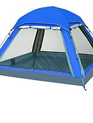 economico -3-4 persone Tenda Singolo Tenda da campeggio Una camera Ompermeabile Resistente ai raggi UV per Campeggio Viaggi CM