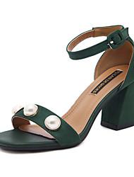 Sandaler-Kunstlæder-Komfort Originale Lysende såler-Damer--Bryllup Udendørs Kontor Formelt Fritid Sport Fest/aften-Stilethæl