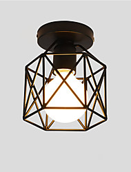 cheap -OYLYW Flush Mount Ambient Light - Mini Style, Rustic / Lodge Vintage Country Retro, 110-120V 220-240V Bulb Not Included