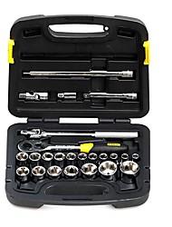 Stanley® 91-939-22 24pc 12.5mm jakoavaimella pakki ammattilainen asunnonomistaja työkalusarja työkalupakki