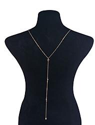 abordables -Femme Autres Cristal Cristal Collier court / Ras-du-cou Pendentif de collier  -  Personnalisé Pendant Pendentif Or Argent Colliers