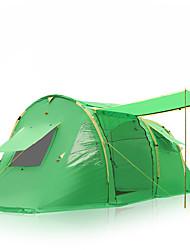 economico -5-8 persone Tenda Doppio Tenda da campeggio Una camera Tende da campeggio formato famiglia Antiumidità Ompermeabile Anti-pioggia