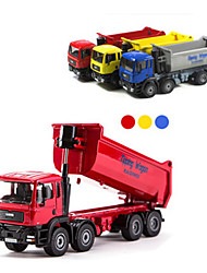 voordelige -Vuilniswagen Speelgoedtrucks & Constructievoertuigen Speelgoedauto's 1:87 Metallic Jongens Kinderen Speeltjes Geschenk