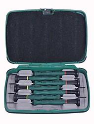 I sette pezzi del set di 1 cacciavite di precisione in miniatura shida