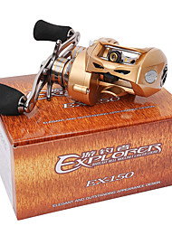 cheap -Baitcasting Reels 7.0:1 Gear Ratio+9 Ball Bearings Right-handed Bait Casting Lure Fishing - EX150-R