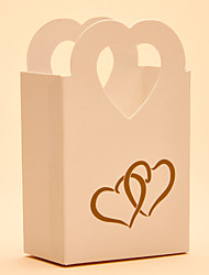 cheap -Round Square Heart Card Paper Favor Holder with Printing Favor Boxes Gift Boxes Candy Jars and Bottles - 25