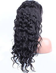cheap -Lace Front Human Hair Wigs Pre Plucked Hairline With Baby Hair Water Wave Malaysian Remy Hair Wigs For Black Women