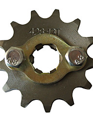 Modified 428 13Tooth Motocross Dirt Pit Bike Engine Front Sprockets 428 Chain 17MM