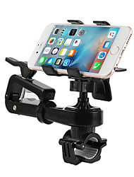 cheap -Motorcycle Bike Outdoor Universal Mobile Phone Mount Stand Holder Adjustable Stand Universal Mobile Phone Plastic Holder