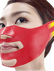 Silicone v face mais fino mordente elevador máscara de massagem fina facial mais fino contorno shaper anti sag belt