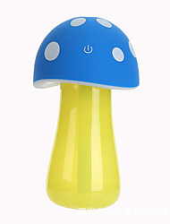 MJQ-8023 Cartoon USB Mini Mushroom Lamp Humidifier with Touch Switch