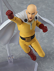 Anime Action Figures Inspired by Cosplay ONE PUNCH-MAN Saitama PVC Jade 16 CM Model Toys Doll Toy