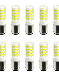 ywxlight® 5w led bi-pin lights 52 smd 2835 400-500 lm branco quente branco frio 110v / 220v