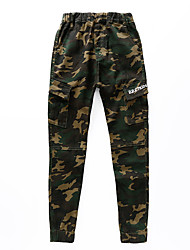 Boys' Camouflage Pants-Cotton Polyester Spring/Fall Summer