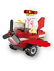 cheap -Building Blocks For Gift  Building Blocks Aircraft Plastics 6 Years Old and Above 3-6 years old Toys