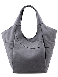cheap -Women's Bags Canvas Tote for Event / Party / Outdoor Beige / Gray / Coffee