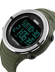 abordables -Reloj Smart Resistente al Agua Long Standby Deportes Múltiples FuncionesReloj Cronómetro Despertador Cronógrafo Calendario Dos Husos