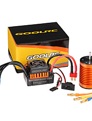 cheap -GoolRC Upgrade Waterproof F540 3000KV Brushless Motor with 45A ESC Combo Set for 1/10 RC Car Truck
