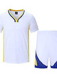 Недорогие -Муж. С короткими рукавами Баскетбол Наборы одежды Укороченные Влажная чистка