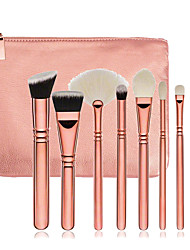 cheap -8 Contour Brush Foundation Brush Sponge Applicator Powder Brush Fan Brush Concealer Brush Eyelash Brush Eyelash Brush dyeing Brush Brow