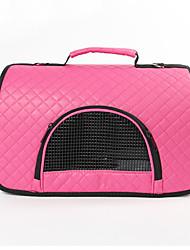 Недорогие -Кошка Собака Переезд и перевозные рюкзаки Сумка Животные Корпусы Компактность Дышащий Однотонный Лиловый Пурпурный Коричневый Красный