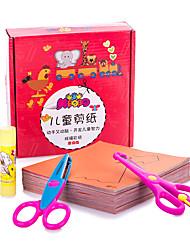 economico -Lavoretti con la carta Giocattoli Fai da te Quadrato Carta Classico Pezzi Per bambini Regalo