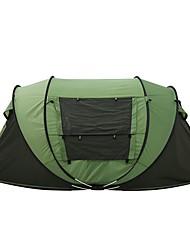 economico -3-4 persone Tenda Doppio Tenda da campeggio Una camera Pop up tenda per Campeggio Viaggi CM